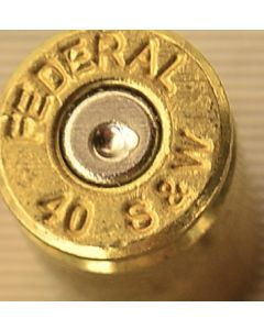 40 Smith and Wesson Fired Brass (500 count) FREE TUMBLE CLEANING!